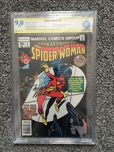 Spider-Woman #1 CBCS 9.0 signed