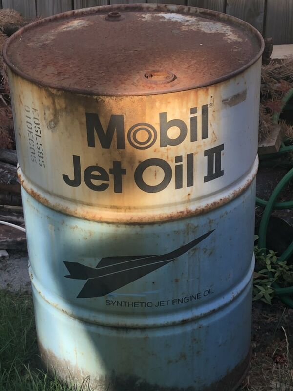 Mobile Jet Fuel Drum.