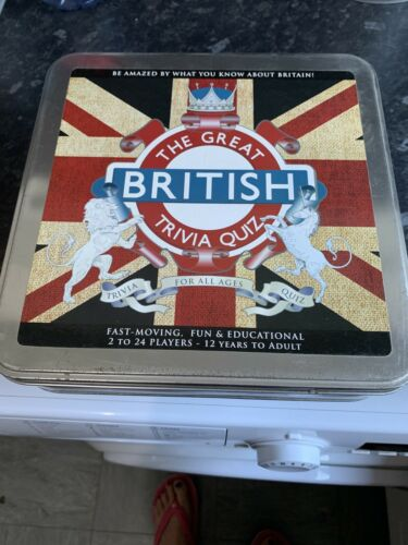 The  Great British Trivia Quiz Gift Tin Amazing facts about Britain