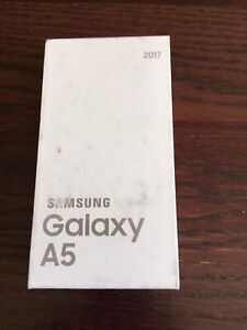 samsung galaxy a5 2017 - BNIB - unlocked/sealed/32gb