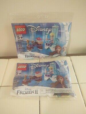 LEGO Disney Frozen II Elsa's Winter Throne 30553 Lot of 2 NEW + Free Shipping