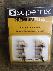 Superfly Premium Flies, Dry Fly Assortment