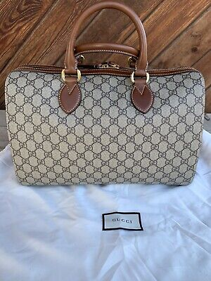 Authentic Gucci GG Supreme Boston Doctor Bag Stunning!!!!! Mint Condition!!!