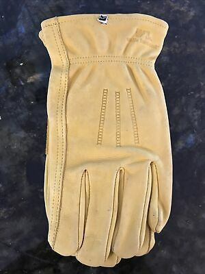 Wells Lamont Premium Cowhide Leather Work Gloves Large