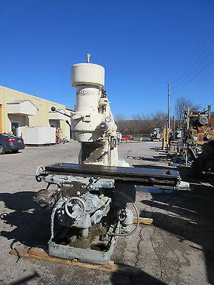 Kearney Trecker Model 2csm Plain Vertical Mill 20 Hp Table 56 X 13-12