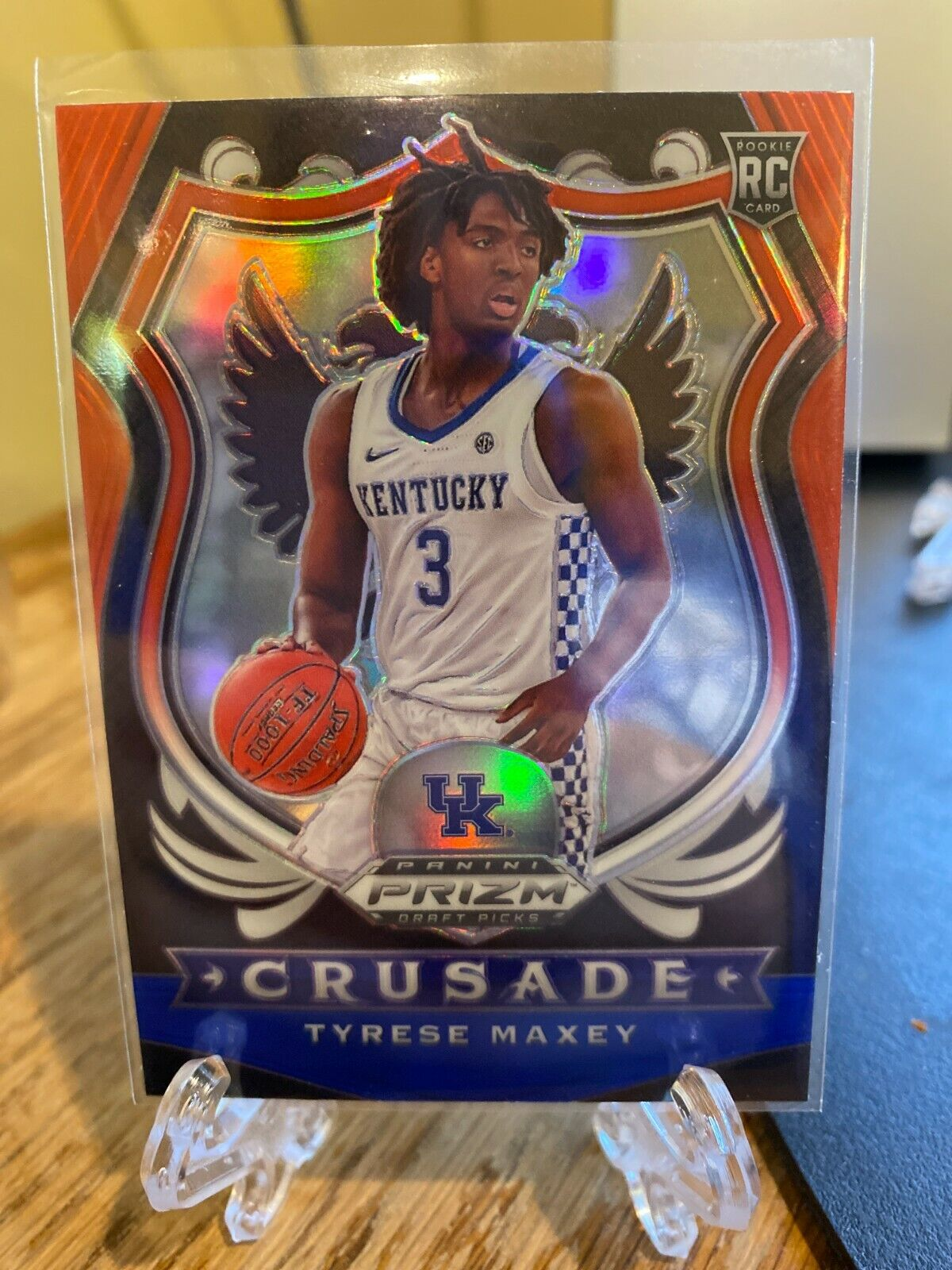 Certification Number 94 - Tyrese Maxey (Red White Blue Crusade)
