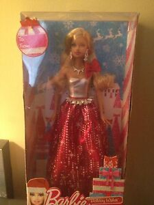 Beautiful Barbie Holidays Wishes