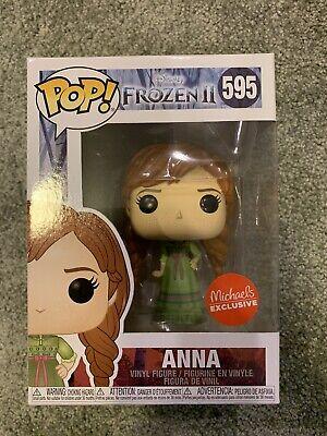 Frozen 2 Anna #595 Michaels Exclusive Funko Pop