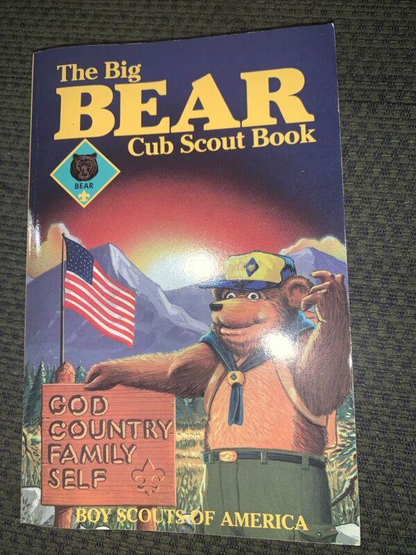 Older  Boy Scout The Big Bear Cub Scout Book  BSA
