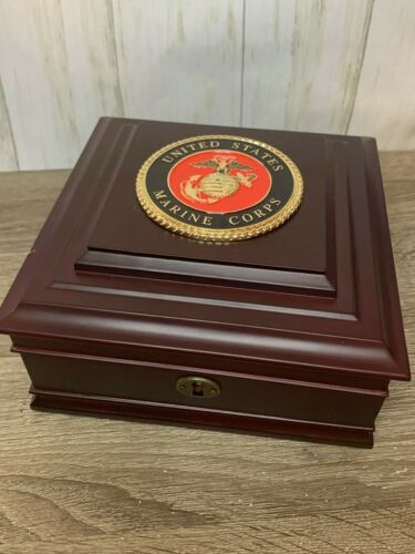 United States Marine Corps Box NASA Astronaut Maj General Charles Bolden Owned
