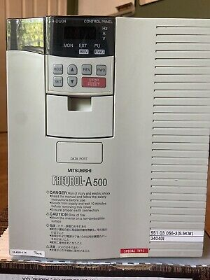 Presstek 34-di Mitsubishi Freqrol A-500 Inverter