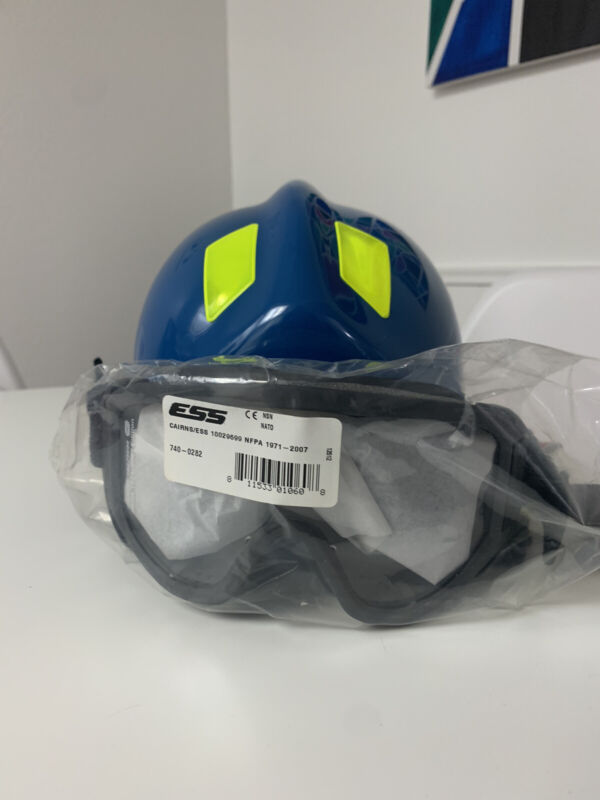 Cairns 360R Firefighter Helmet Low Profile Rescue w/ Goggles MFG
