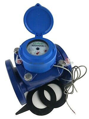 Dae Wp-300m 3 Woltmann Helix Water Meter Pulse Output Cubic Meter