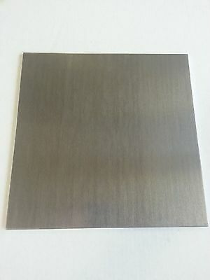 .063 Dark Bronze Anodized Aluminum Sheet 6 X 6