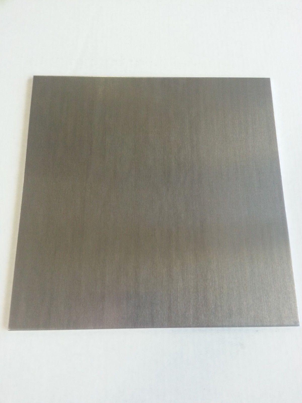 """.125 1/8"""" Aluminum Sheet Plate 6061 6"""" x 12"""""""