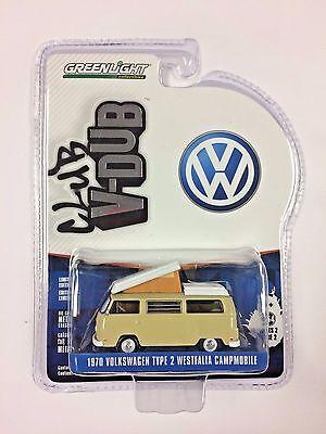 Greenlight 1 64 Club V Dub 1970 Volkswagen Type 2 Westfalia Campmobile