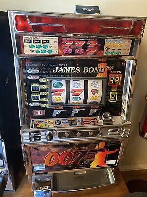 Pachislo Skill Stop Slot Machine James Bond 007 Theme Pachislo Skill Stop