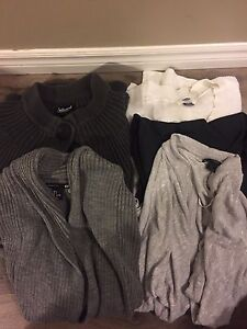 Sweaters and shirts for sale