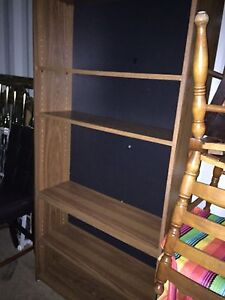 Big bookshelf brown colour
