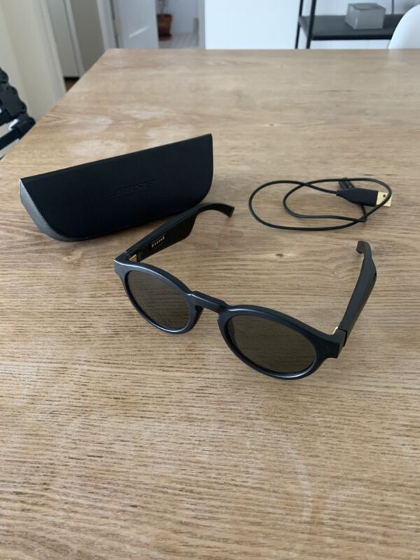 Bose Frames Rondo Audio Sunglasses with Open Ear Headphones - Black