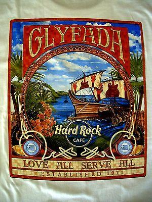 HRC Hard Rock Cafe Glyfada Greece City Tee Shirt Size L neu new NWT