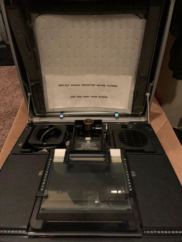 Micro Design Portable Microfiche Reader