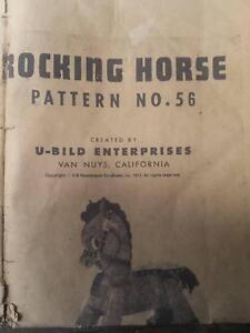 Plan to make wooden rocking horse Mount Barker Mount Barker Area Preview