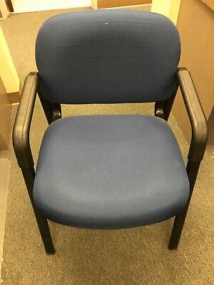 Cyrus Waiting Room Chairs Blueblack