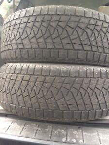 2-235/55R18 Bridgestone Winter tires