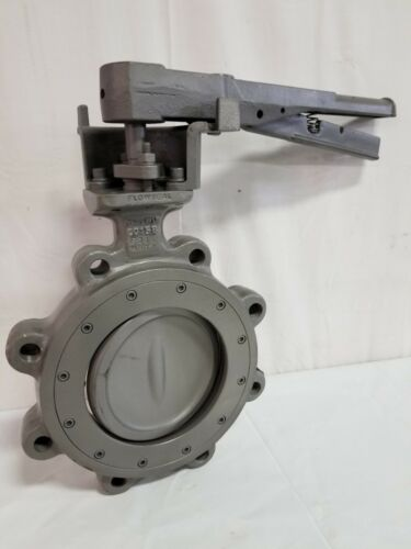 "Crane Flowseal 6"" #150 Stainless Steel High Performance Butterfly Valve, 06-1DA"