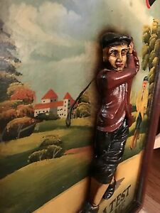 Golf 3D picture wood, man cave time! Available if still posted London Ontario image 3