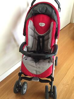 Peg perego PLIKO P3 stroller from birth,build in sibling footrest
