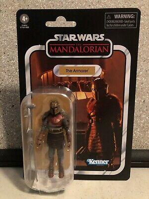 "Star Wars Vintage Collection 3.75"" The Armorer Mandalorian Season 1 2020 Hasbro"