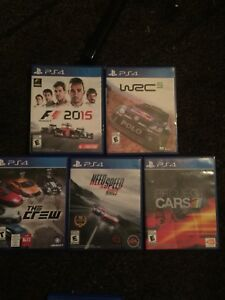 PS4 race games