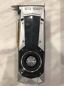 5 x Geforce Nvidia Gtx 1080ti Founders Edition 11GB GPU