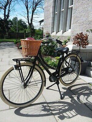 Ladies Bike-Gazelle Dutch Bicycle Puur _ Nl 7 Women's Black