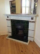 Antique Federation Marble Fireplace Summer Hill Ashfield Area Preview