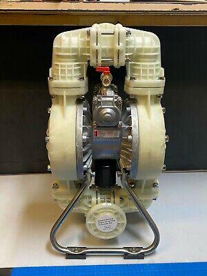 Dayton 3hjw5 1-12 100psi Double Diaphragm Pump Polypropylene Santoprene