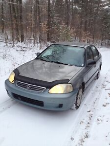 Honda Civic 1999 Que Plated $700