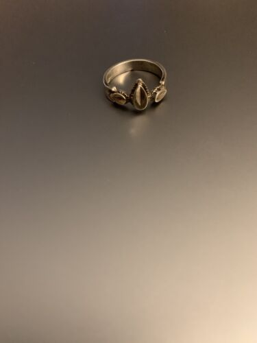 Vintage Boho Sterling Silver Ring Size 5 - $4.00