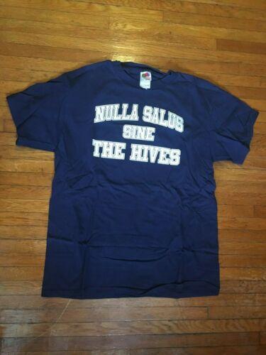 THE HIVES - Nulla Salus Sine shirt LARGE Swedish Punk Rock 2004 vtg L oop rare