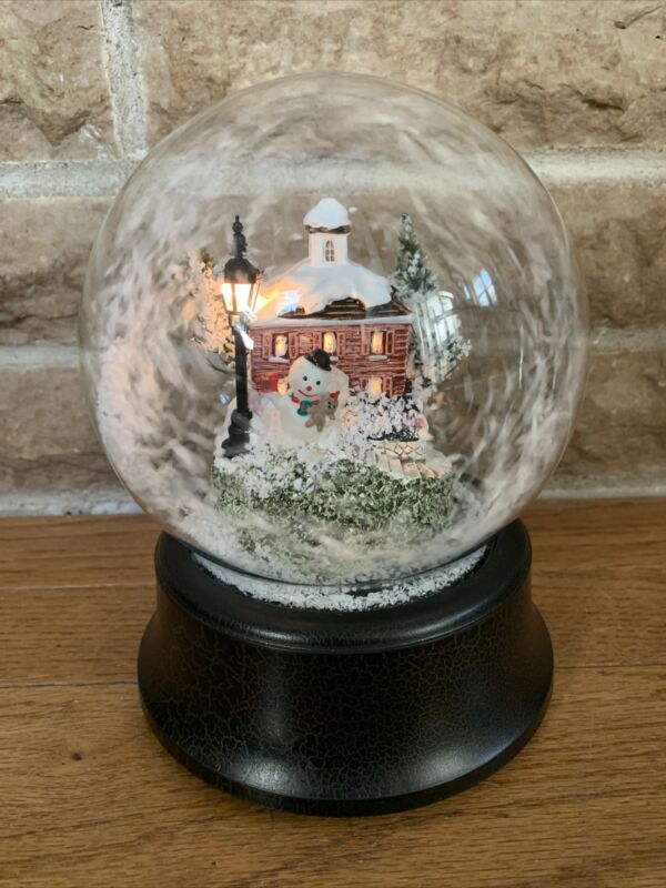 Musical Animated Snow Globe With Moving Snow Plays Jingle Bells