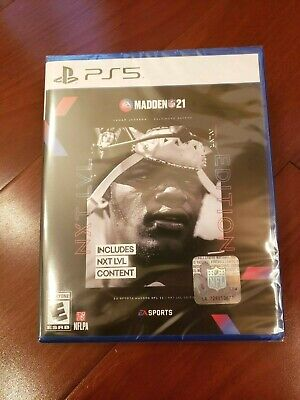 PlayStation 5 - Madden NFL 21 (Next Level Edition) - Brand NEW - NXT LVL PS5