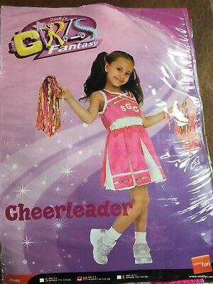 Boy Cheerleader Costume (Cheerleader Costume Childrens Medium 7-9 Years 134-146 cm)
