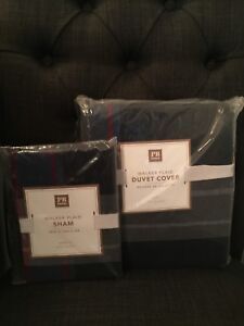 PBTeen TWIN Duvet Cover with Standard Sham
