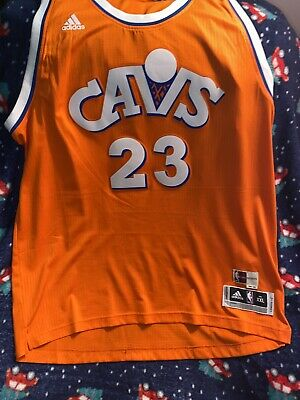 Adidas Cavs Lebron James 23 Hardwood Classics 1986-87 Jersey Adult XXL NBA