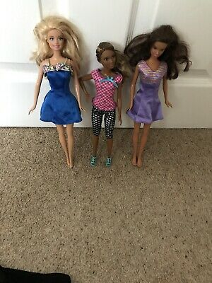Barbie Doll Bundle Of 3