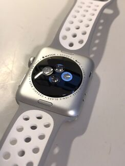 Apple Watch Nike Plus 42mm Silver Aluminium