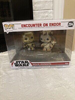 New Funko Pop Movie Moments Star Wars Encounter on Endor Bobble-Heads 294