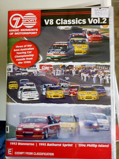 Bathurst motorsport dvd  V8 classics  volume 2